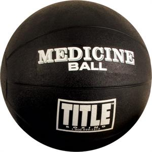 Title Rubber Medicine Ball Large